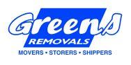 Greens Logo white